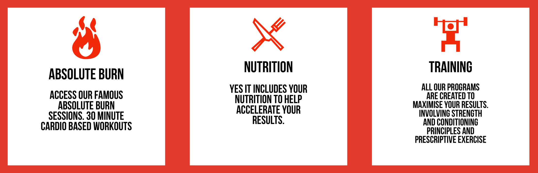 Absolute Training & Nutrition 30-Day Fitness Offer - What do you get